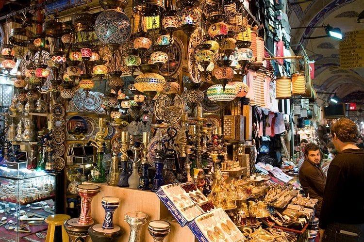 Сувенирный рынок в Египте