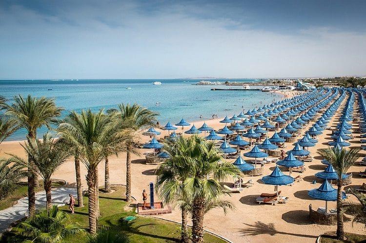 Хургада - самый популярный туристический город Египта