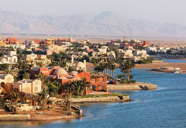 Курорт Эль-Гуна на Красном море