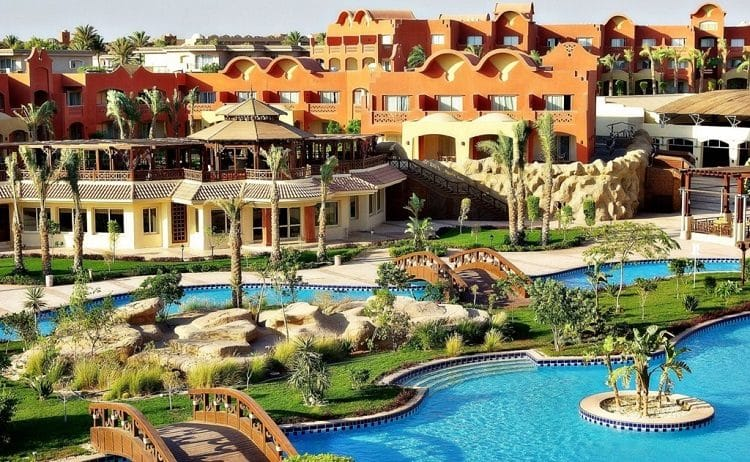 Один из лучших отелей в Шарме