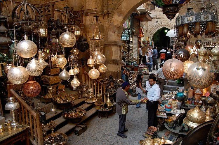 Каир - крупный центр торговли