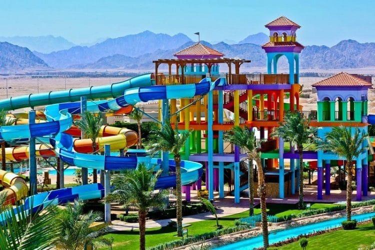 Отель Египта, в котором есть аквапарк