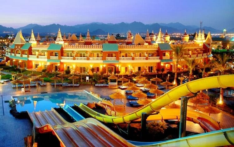 Отель с аквапарком в Шарме - Aqua Blu Sharm El Sheikh