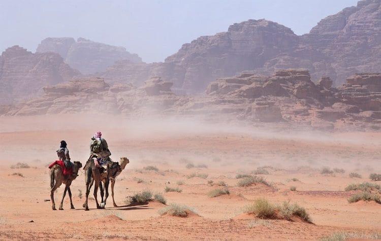 Сезон песчаных бурь в Египте