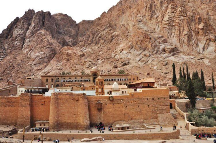 Монастырь Святой Екатерины у подножия Синая
