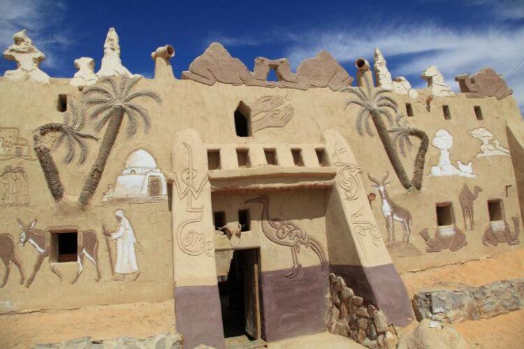 Оазис Фарафра возле Белой пустыни