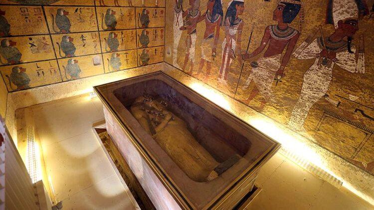 Долине царей Усыпальница Тутанхамона